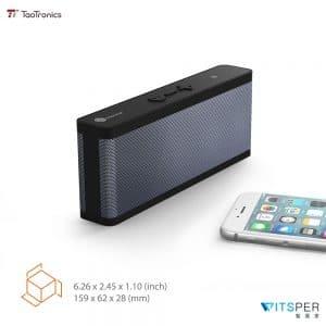 TaoTronics TT-SK09超輕薄防水藍牙喇叭 實測影片丨WitsPer智選家