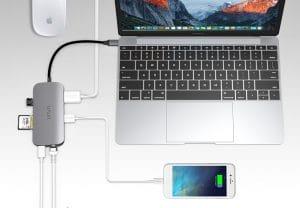 2020年Macbook必備:變壓器原地升級!Type-C、PD快充、HDMI一次搞定 Hub筆電集線器推薦
