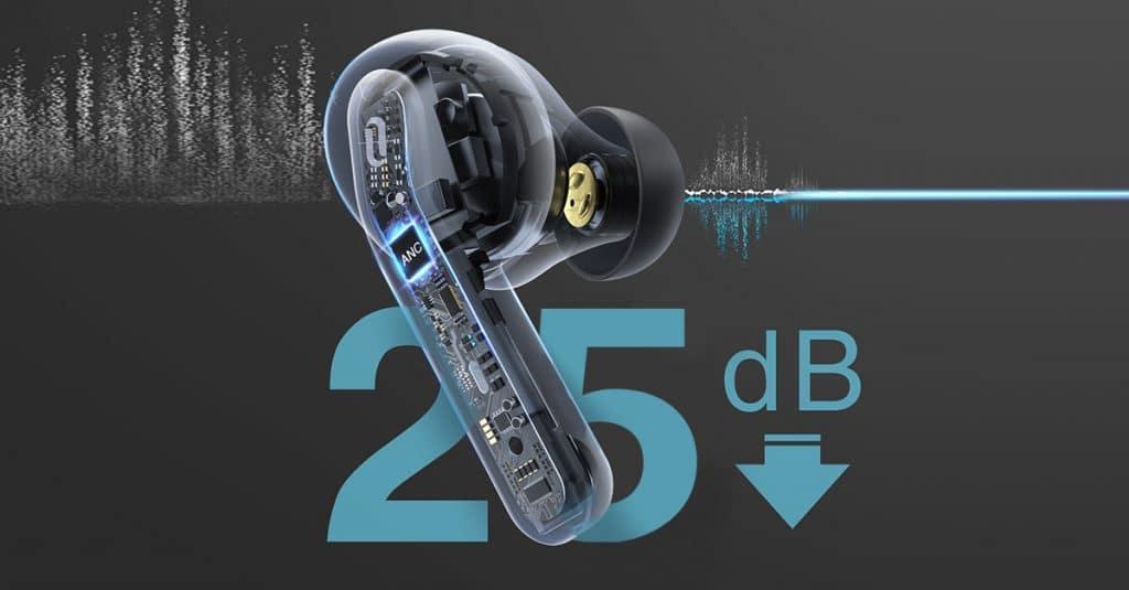 定製弦切角設計,淬煉純淨音質|TaoTronics Duo Free ANC (Purecore) 降噪真無線藍牙耳機
