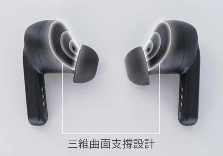 定製弦切角設計,淬煉純淨音質|TaoTronics Purecore ANC降噪真無線藍牙耳機